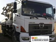 車主直售09年出廠中聯日野40米泵車(高性價,五節臂)