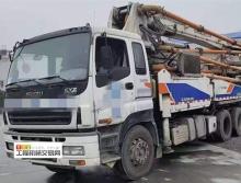 出售10年中联五十铃43米泵车