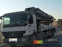 精品裸車出售08年出廠中聯奔馳46米泵車