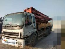 出售07年12月出廠08年上牌三一五十鈴37米泵車(終端)