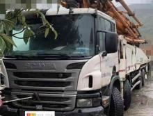 精品出售14年出廠中聯斯堪尼亞56米泵車