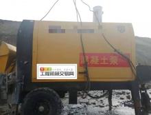 出售19年德杰40细石混凝土柴油拖泵