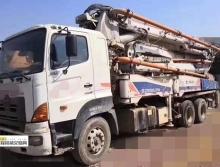 精品出售10年出廠中聯日野40米泵車(原中聯法務車)