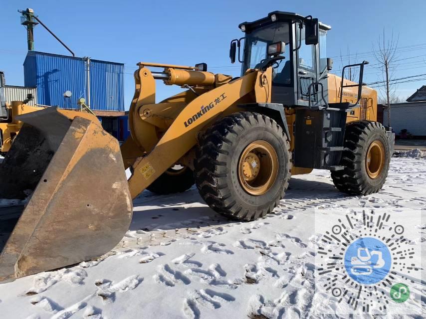 转让龙工2018年855N轮式挖掘机