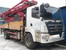 終端精品出售18年三一37米泵車(國五)
