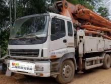 出售13年出厂中联五十铃47米泵车