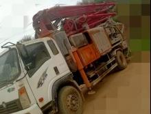 精品出售16年拓沃25米搅拌泵车
