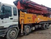 出售13年三一五十铃52米泵车