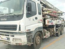 出售2010年出廠中聯五十鈴37米泵車