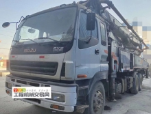 出售11年中联五十铃47米泵车