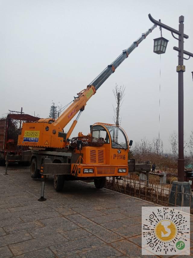 转让济宁四通2018年12吨吊车
