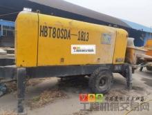出售09年英特机械HBT80SDA-1813电拖泵