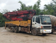 出售2010年三一五十铃40米泵车