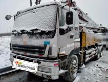 出售08年三一五十铃37米泵车