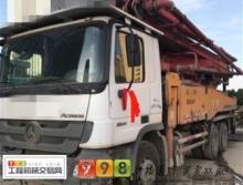 出售11年三一奔驰46米泵车(大排量)