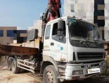 出售2012年出厂三一五十铃38米泵车
