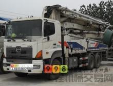 出售12年出厂中联日野40米泵车