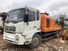 出售2013年出厂中联东风10018车载泵