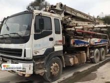 精品转让10年出厂中联五十铃37米泵车