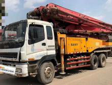 精品转让2012年三一五十铃底盘49米泵车