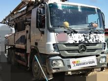 终端出售10年出厂中联奔驰47米泵车