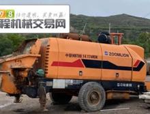 车主转让10年出厂中联8014.174柴油拖泵