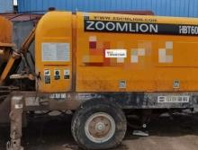 出售2012年中联HBT-8-75拖泵(中联2台三一2台)
