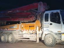 极品出售09年出厂三一五十铃37米泵车(大排量  西北车)
