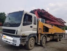 精品裸车出售2012年三一五十铃52米泵车