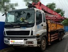 精品出售11年7月出厂三一五十铃37米泵车