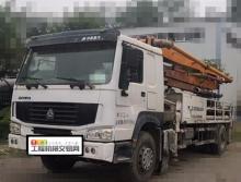 裸车出售2014年中联豪沃25米泵车
