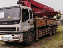 出售2011年三一五十铃37米泵车