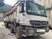 精品转让2014年12月中联奔驰底盘56米泵车