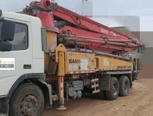 极品出售10年三一沃尔沃37米泵车
