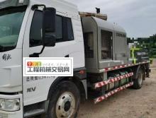 出售17年3月出厂中联10018车载泵(国五)
