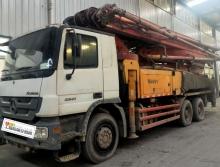 精品出售11年三一奔驰46米泵车