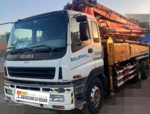 极品出售11年三一五十铃37米泵车