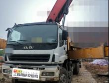 精品车出售11年出厂三一五十铃48米泵车(大排量)