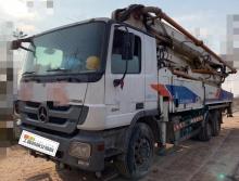 精品转让2012年出厂中联奔驰底盘47米泵车