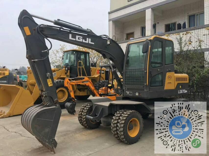 转让山东临工2019年LG670BM轮式挖掘机