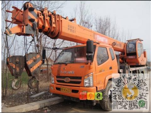 转让唐骏2017年16吨吊车