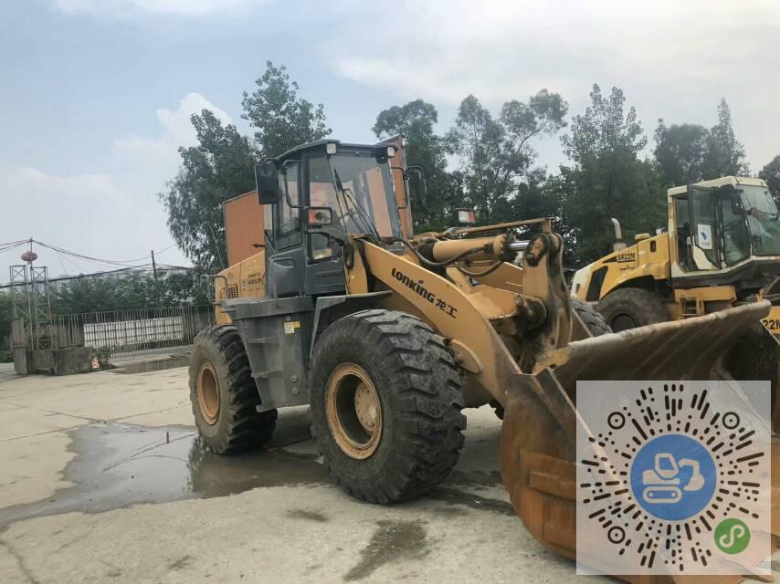 转让龙工2018年LG853N大挖