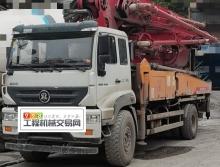 精品出售18年出厂九合斯太尔37米泵车(国五)价高