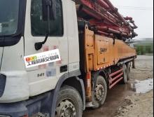精品出售12年出厂三一奔驰56米泵车【6节臂】