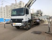 北方精品出售10年中联奔驰37米泵车