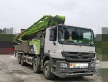 出售18年中联奔驰53米泵车(国五)