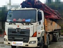 精品转让12年11月三一日野56米泵车(6节臂.13万方)