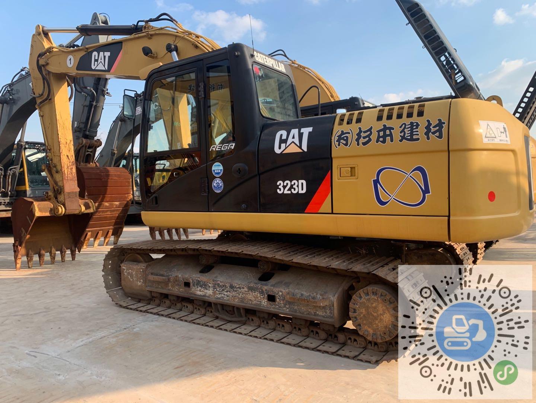 转让卡特彼勒2019年进口323D履带挖掘机