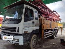 出售12年三一五十铃48米泵车(三桥)