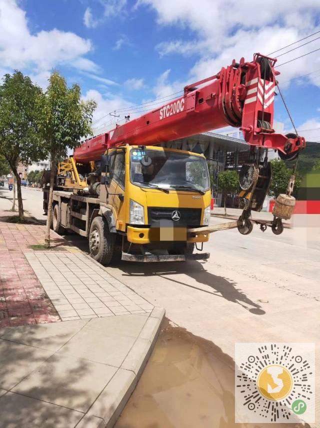 转让三一重工2016年16吨吊车